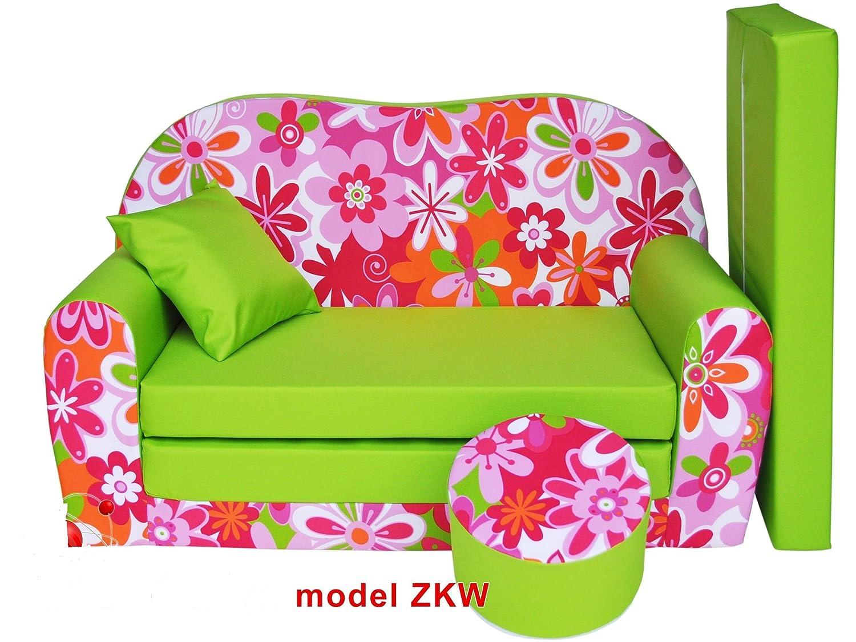 Mini Sitzsack,Konvertiert in ein Mini-Sofa-Bett Sitzsack Kinderzimmer Kinderm/öbel Kindersofa