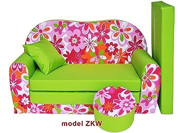 plus récent c4b33 61ea3 Sofa enfant 2 places se transforme en un canapé-lit