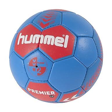 Hummel 1,3 Premier - Balón rojo red/blue Talla:3: Amazon.es ...