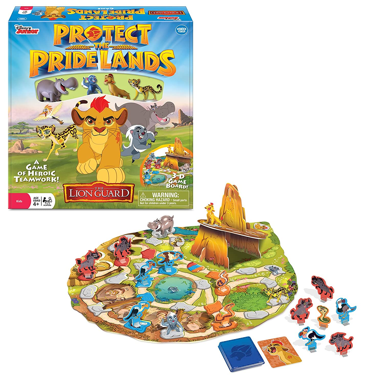 Disney The Lion Guard Protect the Pride Lands Game The Wonder Forge 60.001.446