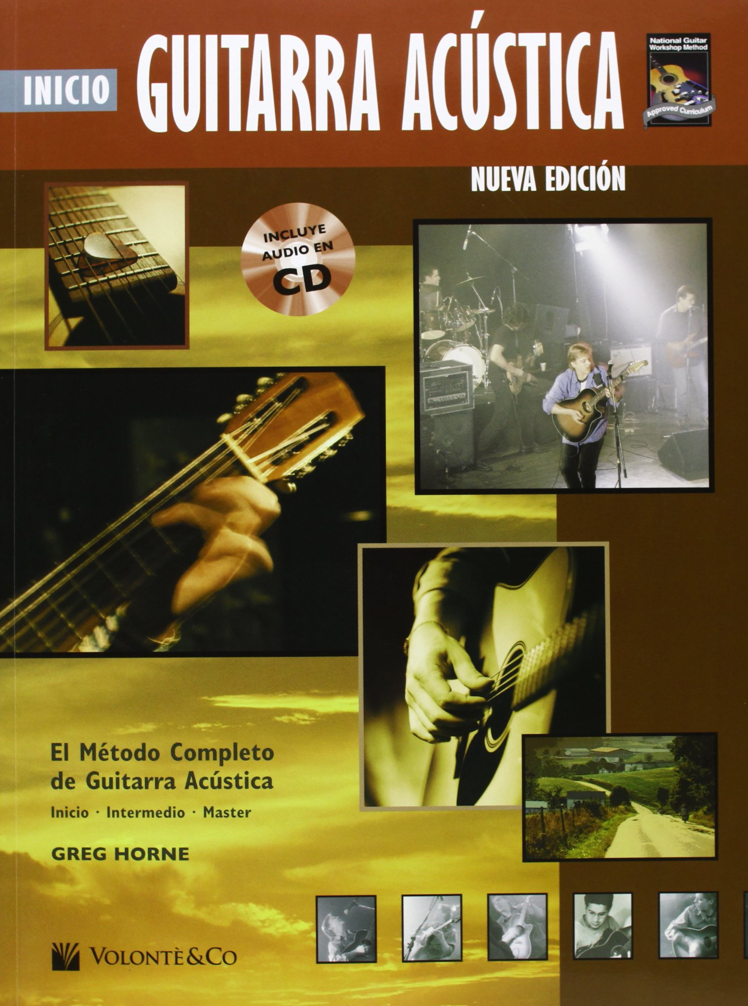 GUITARRA ACUSTICA INICIO + CD (Didattica musicali): Amazon.es: Horne Greg: Libros