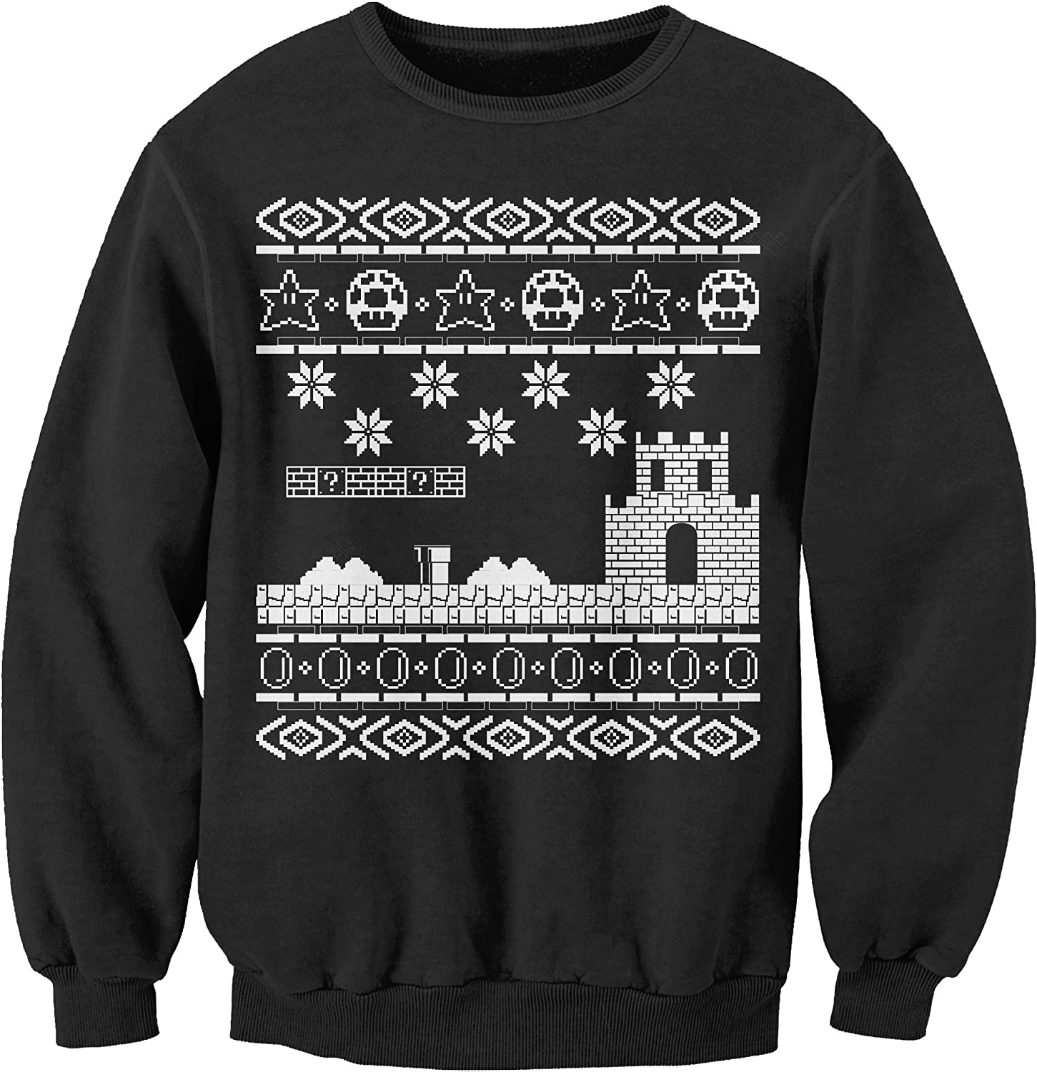 Amazon.com: Sweater: Retro Video Games Ugly Christmas Sweater: Clothing