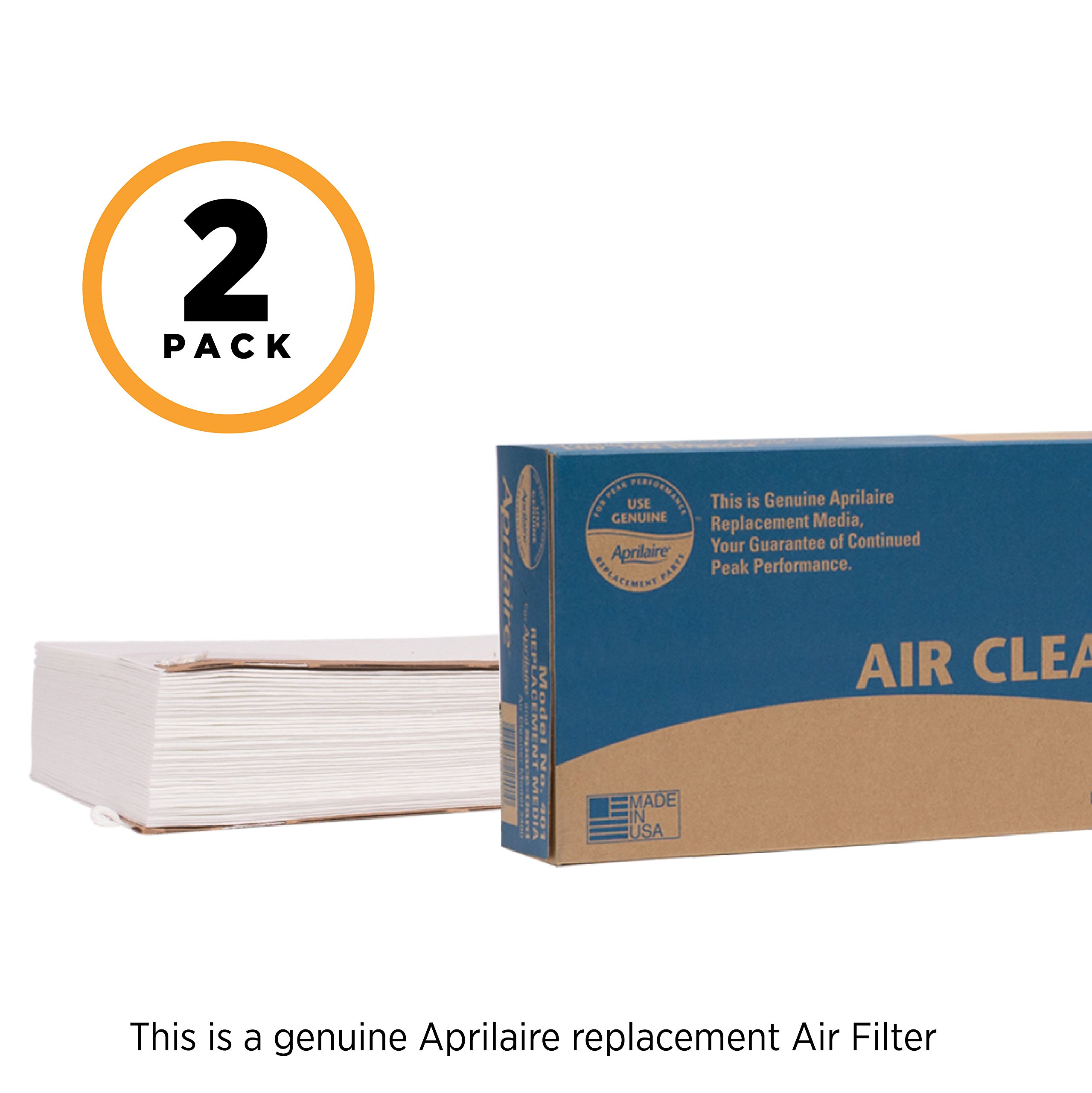 Aprilaire 401 Replacement Filter for Aprilaire Whole House Air Purifier Model: 2400, Space Gard