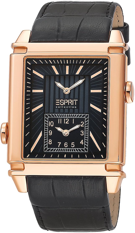 ESPRIT Reloj analógico para Hombre de Cuarzo con Correa en Piel EL101361F03: Amazon.es: Relojes