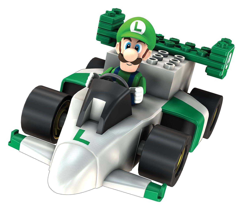 Amazon KNEX Mario Kart Wii Building Set Luigis Motorized Sprinter Toys Games