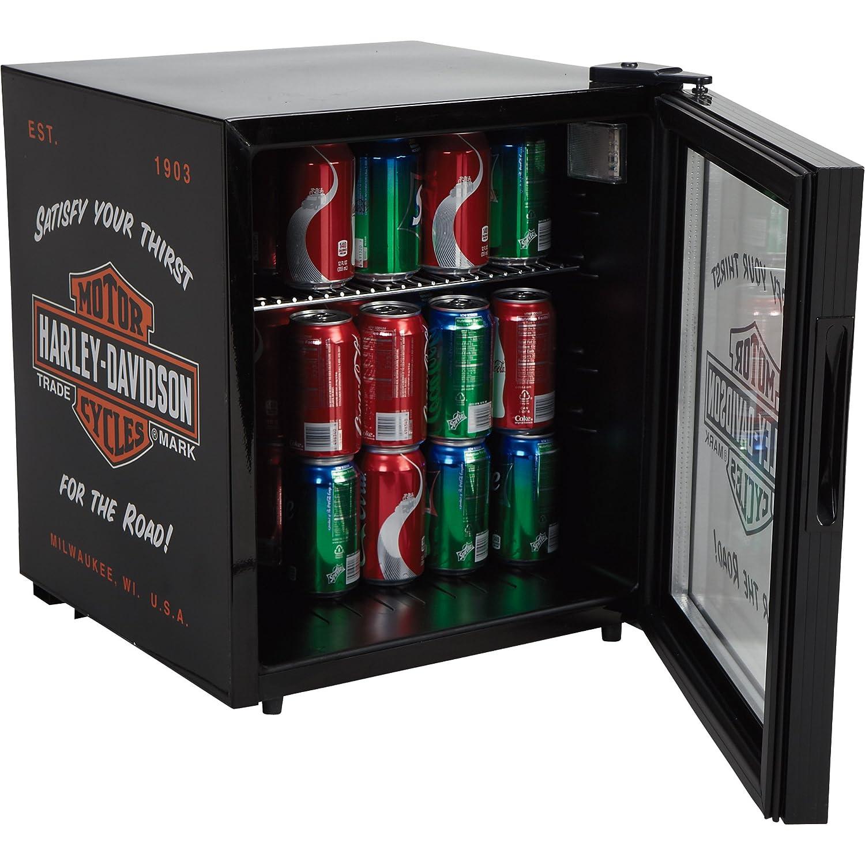 nostalgic bar u0026 shield beverage cooler black - Beverage Coolers