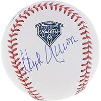 $449 » Hank Aaron Atlanta Braves Autographed 715 Home Run 40th Anniversary Logo Baseball - Fanatics Authentic Certified