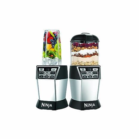Amazon.com: Nutri Ninja Nutri Bol Duo con auto-iq Boost ...