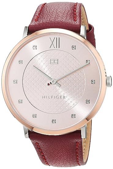 Tommy Hilfiger Reloj Análogo clásico para Mujer de Cuarzo con Correa en Cuero 1781810: Tommy Hilfiger: Amazon.es: Relojes