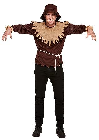 Henbrandt Disfraz de espantapájaros para hombre (talla única ...