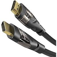 KabelDirekt – 7,5m Cable HDMI 4K, Compatible con (HDMI 2.0a/b, 2.0, 1.4a, 4K Ultra HD, 3D, Full HD 1080p, HDR, ARC High…