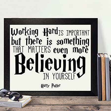 Presents Gifts For Young Girls Boys Teens Harry Potter Lovers Fans Birthday Christmas Xmas Working Hard