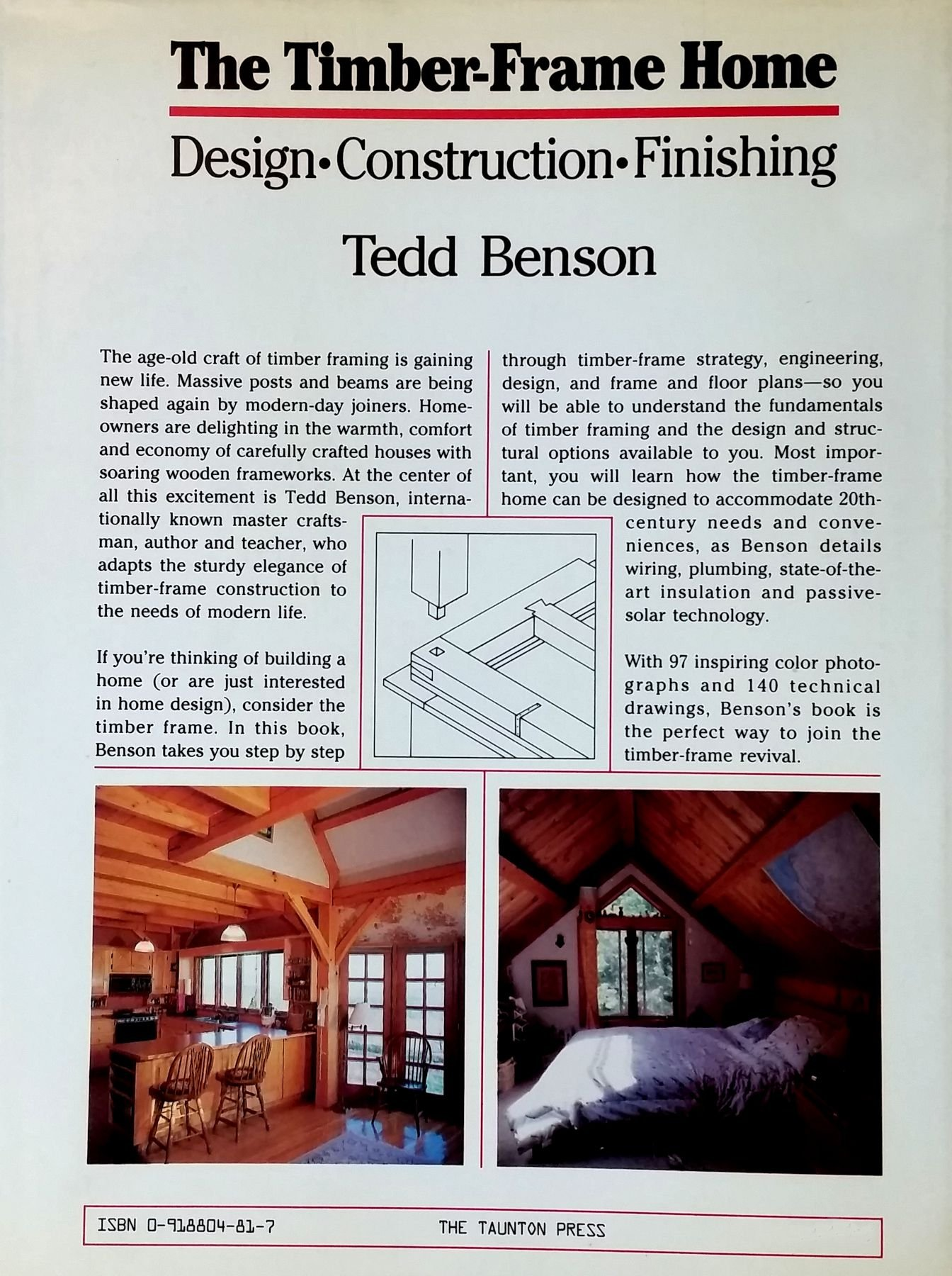 Buy Timber Frame Home: Design, Construction, Finishing Book Online ...