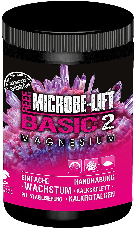 Microbe de Lift Basic 2 - Magnesio - (Calidad de magnesio adicional para cualquier Mar Agua Acuario, forma de polvo, también verwenbar para la Balling de ...