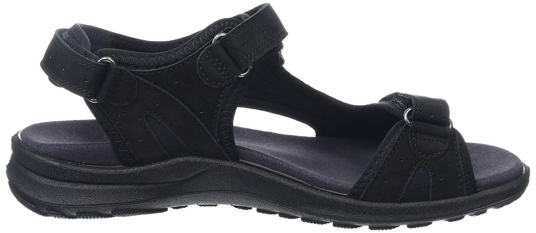 Legero Siris Damen Schwarz Offene Sandalen mit Keilabsatz Schwarz Damen (Schwarz 00) 6f675c
