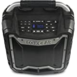 ECOXGEAR EcoTrek GDI-EXTRK210 Rugged Waterproof Floating Portable Bluetooth Wireless 100 Watt Stereo Smart Speaker and PA Sys