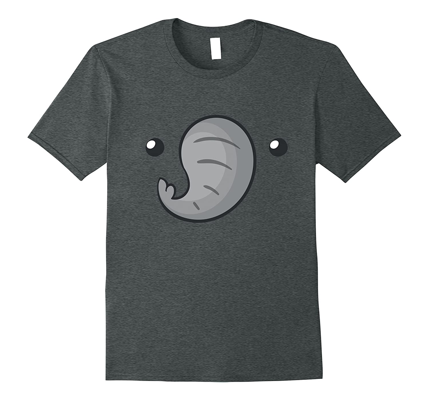 Cute Elephant Face T-Shirt Halloween Costume For Kids Adult-AZP