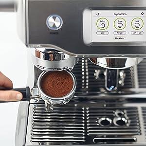 Dualboiler-Espresso Siebträgermaschine SAGE SES990 the Oracle Touch