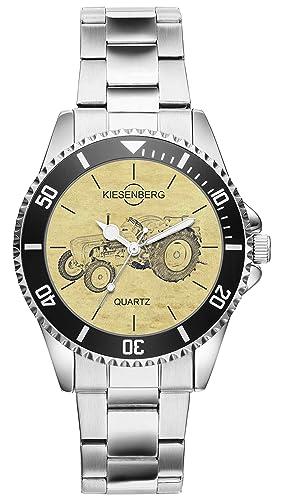 Regalo para Porsche Diesel Master Tractor Fan Conductor Kiesenberg Reloj 20464: Amazon.es: Relojes