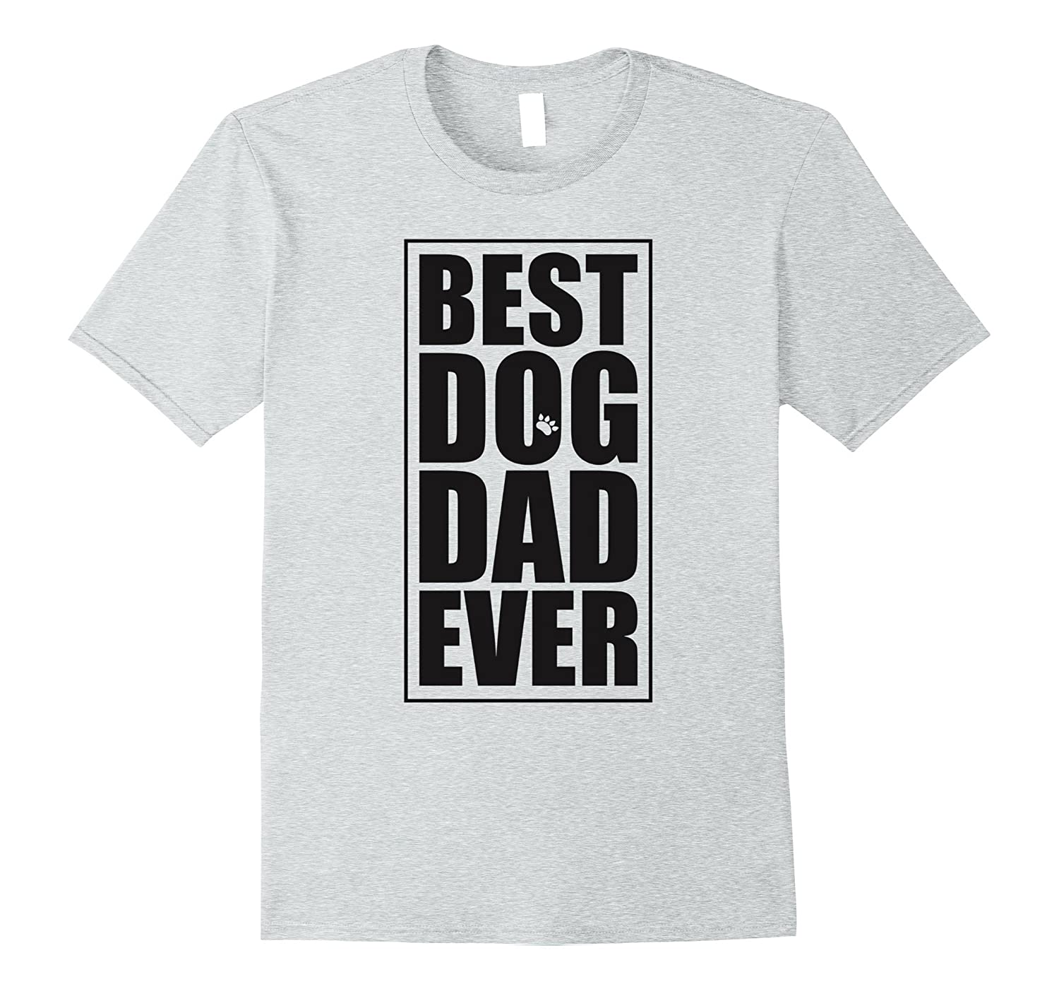 bc32401a Best Dog Dad Ever T-Shirt - Dog Dad Black Letters Shirt-TH - TEEHELEN