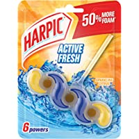 Harpic Active Fresh Power Toilet Block, Sparkling Citrus, 35g