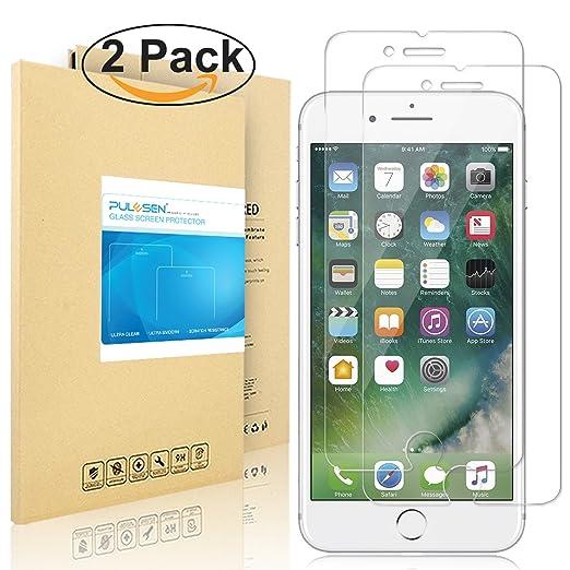 125 opinioni per iPhone 7 Pellicola Protettiva, PULESEN® [2-PACK] [Versione Aggiornamento] iphone