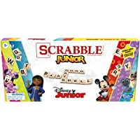 Scrabble Junior: Disney Junior Edition Board Game, Double -Sided Game Board, Matching and Word Game for Kids Ages 5 and…