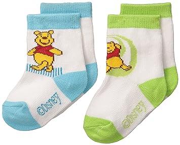 2729a6e3214c Amazon.com  Winnie The Pooh Two Pack Socks  Baby
