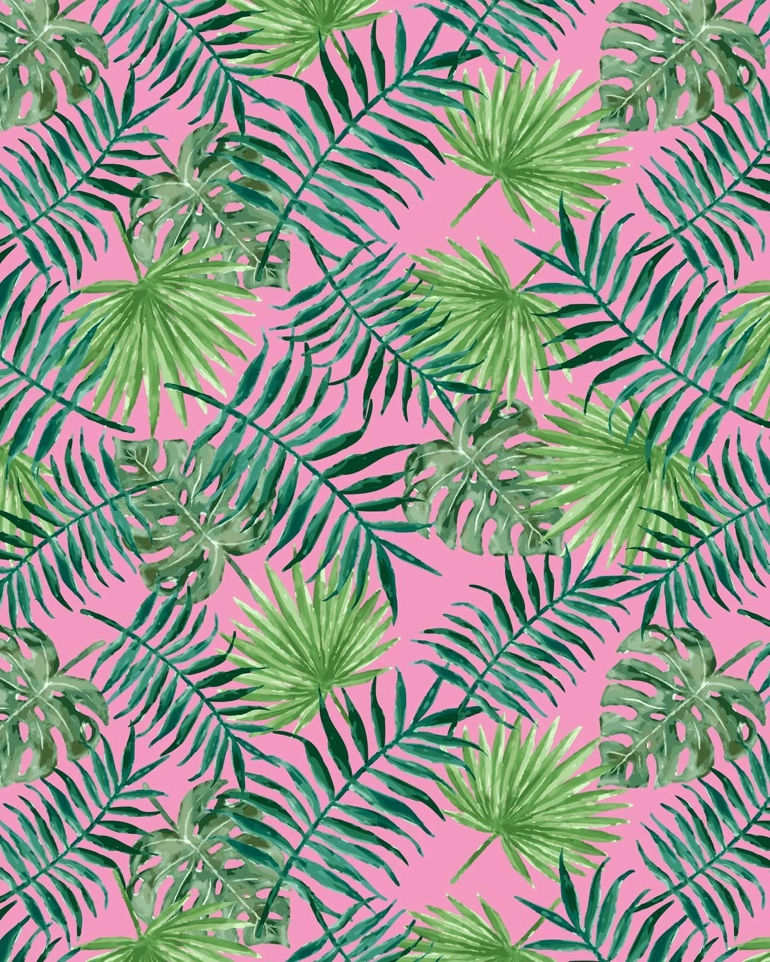 Composition Notebook Tropical Green Leaves Pink Pattern Blank Lined Notebook 120 Pages 8 X10 Notes Happy 9781078074438 Amazon Com Books Tropical palm leaves and orchid flowers. pink pattern blank lined notebook 120