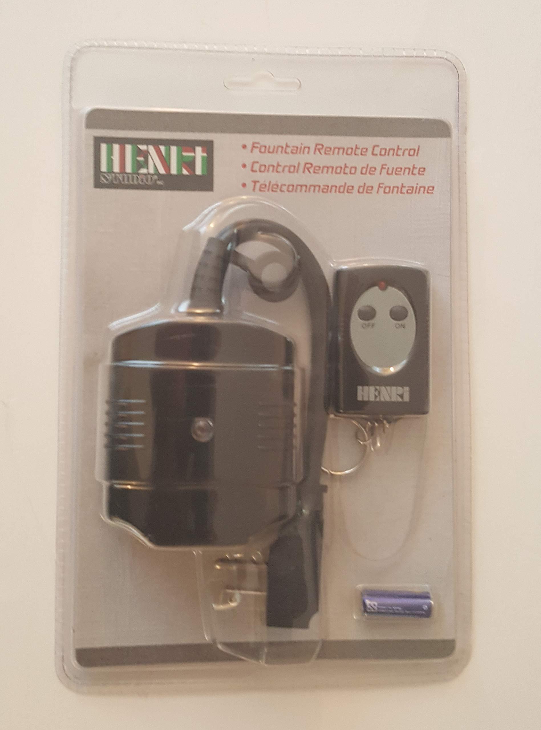 Fountain Remote Control, FOUNTAIN REMOTE CONTROL by Henri Studio