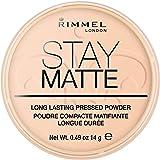 Rimmel Stay matte polvere pressata–champagne/Warm beige