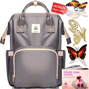 916dee7acd94 Amazon.com   Diaper Bag Backpack - Baby Bags for Mom