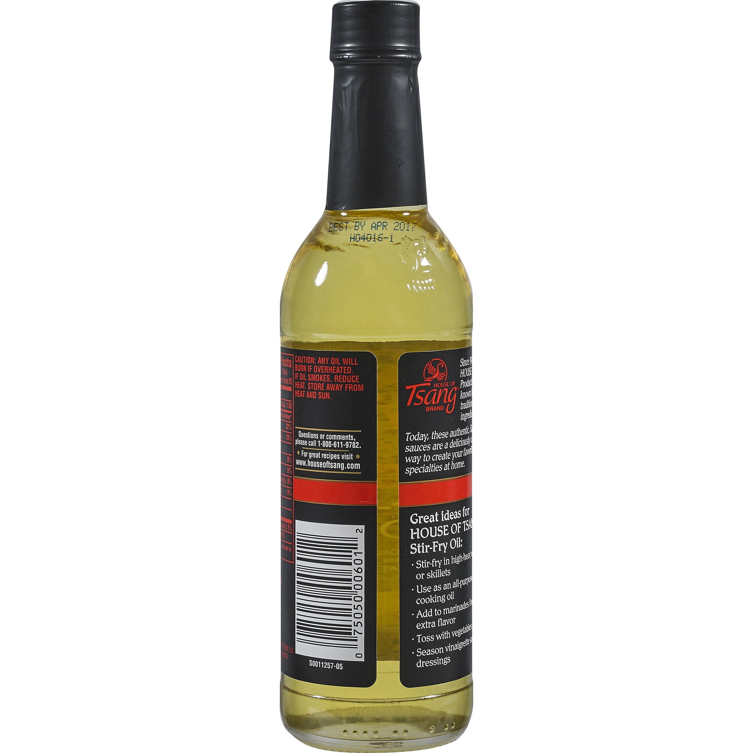 PACK OF 12 - House of Tsang Stir-Fry Cooking Oil, 10 fl oz by _House of Tsang (Image #2)