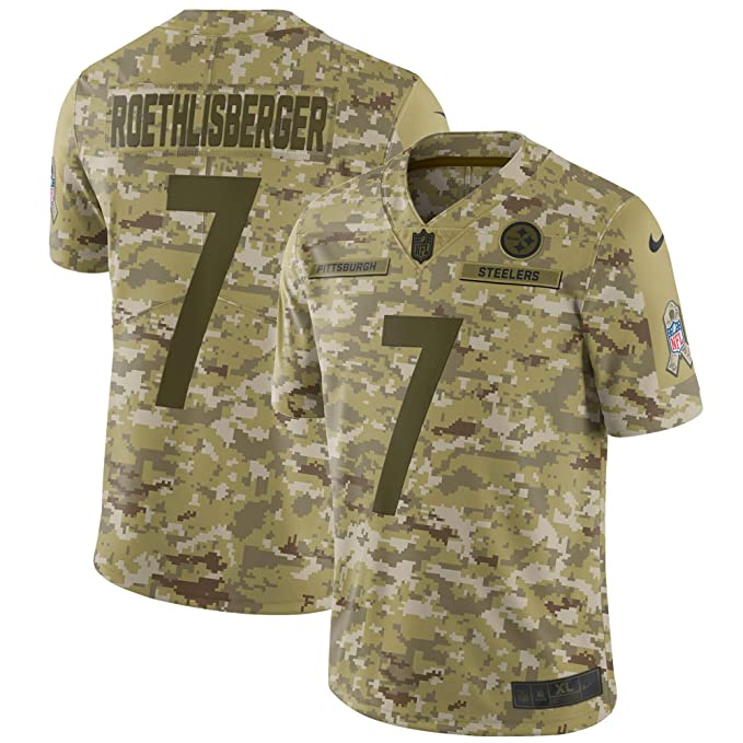 promo code 4159d bd3b6 Nike Ben Roethlisberger Pittsburgh Steelers Salute To ...