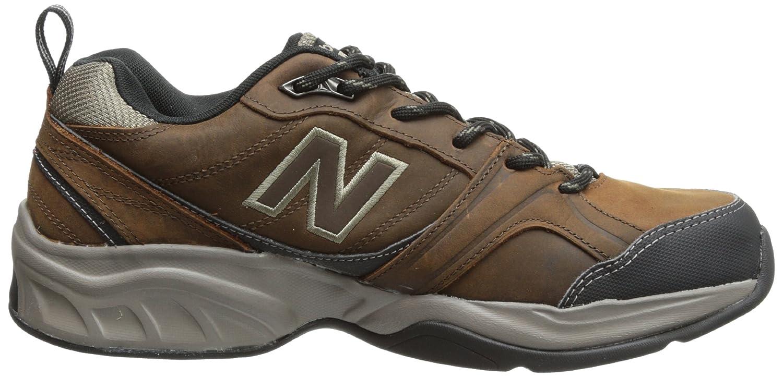 Amazon.com | New Balance Men's MX623 Water Resistant Cross-Training Shoe, Dark  Brown/Tan, 16 4E US | Loafers & Slip-Ons