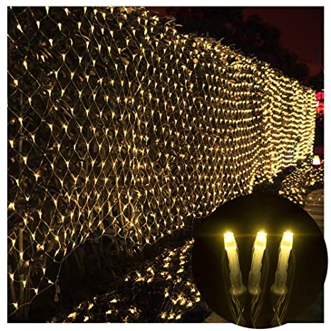 sports shoes 1deba bcbcd Net Lights Net Mesh Fairy String Decorative Lights,4*6M 672 LEDs 8 modes  Waterproof with Connectable Tail Plug for Tree-wrap Indoor Outdoor Wedding  ...