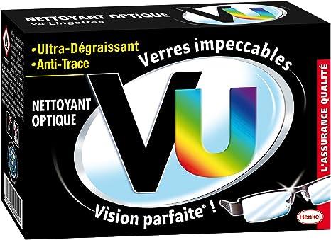VU - Nettoyant optique - Lingettes Nettoyantes
