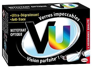 VU - Lingettes Nettoyant optique Ultra Dé