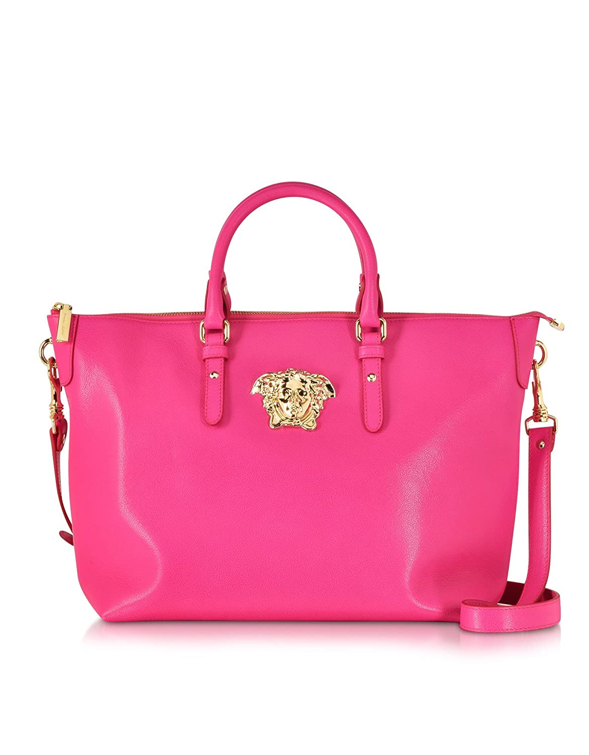 c1c1280004 Versace Designer Handbags Palazzo Small Marilyn Pink Leather Tote Bag   Amazon.co.uk  Shoes   Bags
