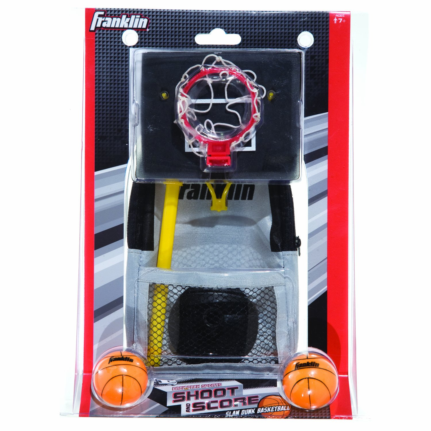 Franklin Sports Shoot N Score-Backpack Sports Slam Dunk Basketball