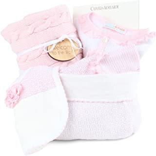 product image for Oliver and Adelaide American Made Crib to Cafe-4 Pc Gift Set, Pink, 0-6 Months
