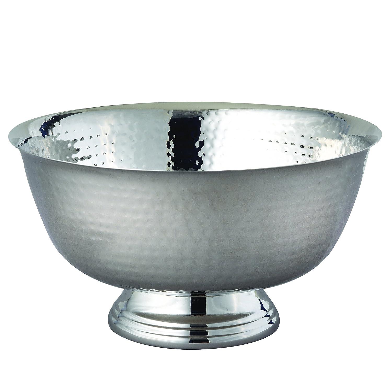 Elegance 72143 Hammered Revere Bowl 10 Silver 10 Leeber Limited USA