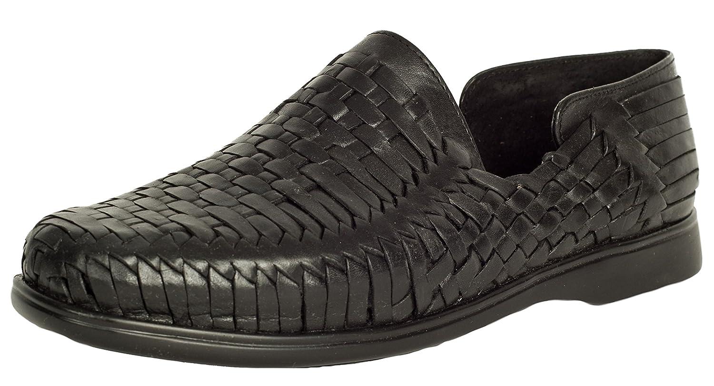 678868df hot sale El Presidente Men's Mexican Style Huarache Sandals - Black ...