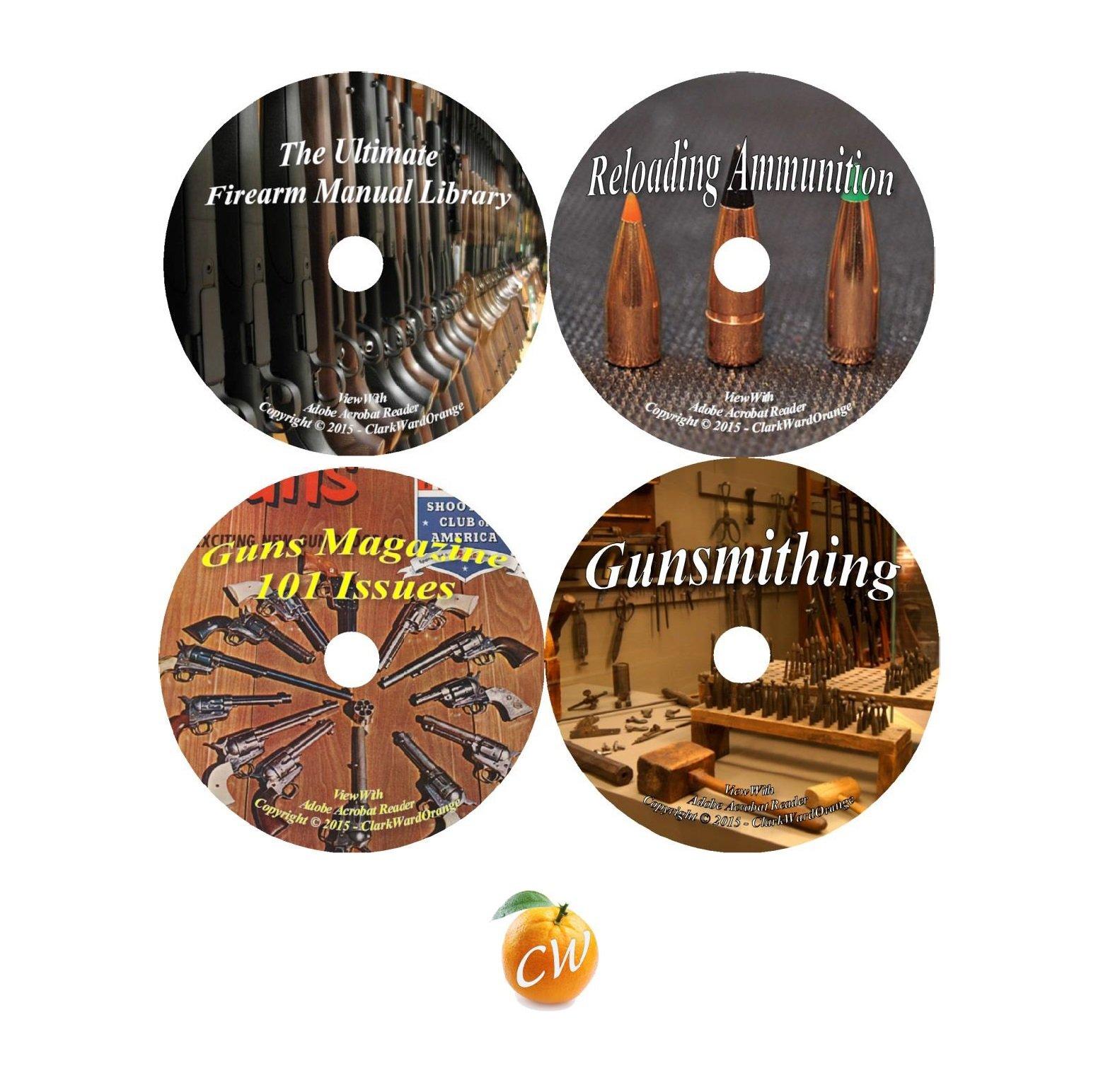 Firearm Master Series Gun Manuals Reloading Gunsmithing Guns Magazine 4 DVD Set pdf