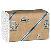 Deals on 16PK Scott Essential Multifold Paper Towels 01840 250 Sheets