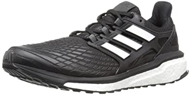 newest efd87 f7d7a adidas Men s Energy Boost m Running Shoe, Black White White, 6.5 Medium
