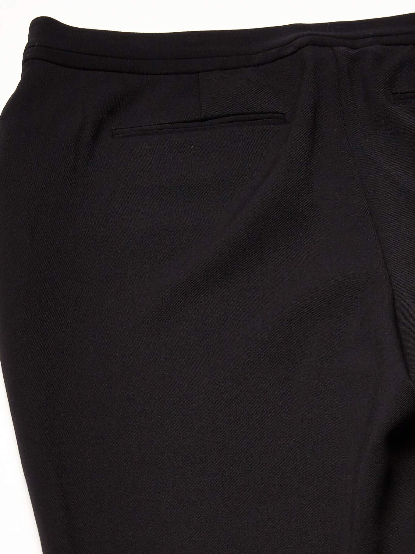 Rafaella Women's Curvy Fit Gabardine Slim Leg Pant