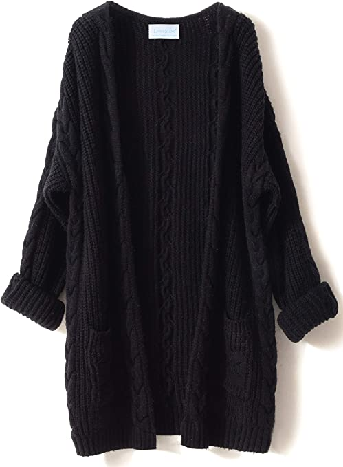 Femmes Pull loose oversize Soft 1pc Casual Cashmere Cardigan Femme