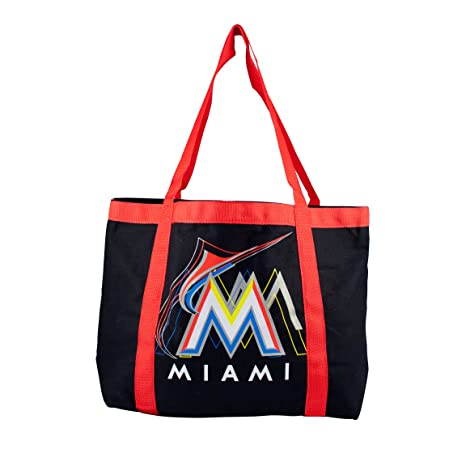 5c73ad344d1 Amazon.com   MLB Miami Marlins Team Tailgate Tote   Sports Fan ...