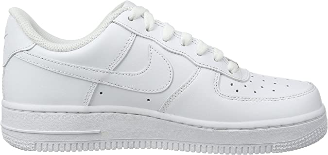 Nike Women's Air Force 1 '07 Basketball Shoes White 315115 112 (9)